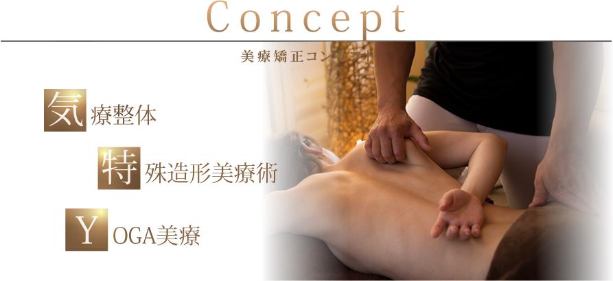 Concept 美療矯正コンセプト